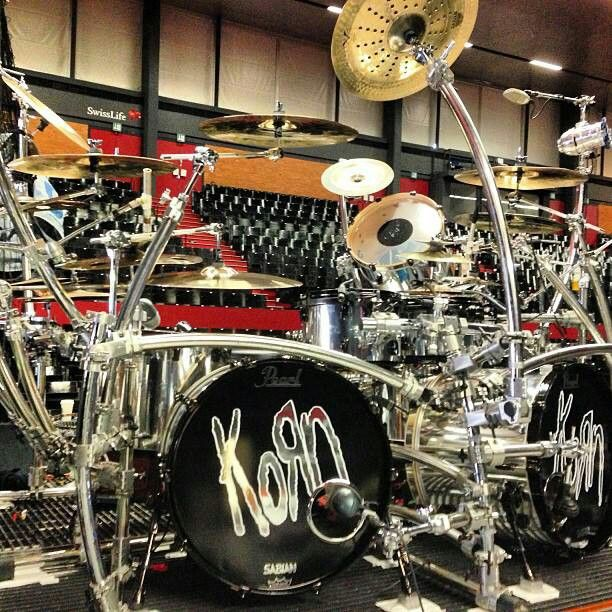 Ray's drum kit