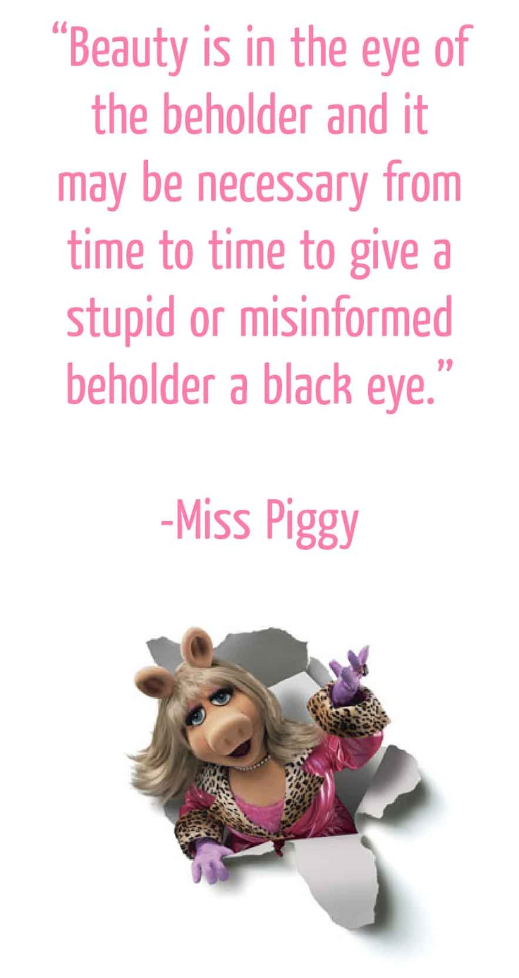 204 best Miss Piggy images on Pinterest | Miss piggy ...
