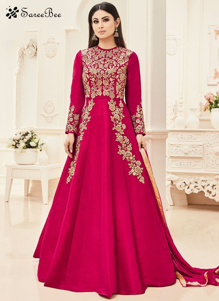 Best 25 floor length anarkali ideas on pinterest prachi for Floor length kurti