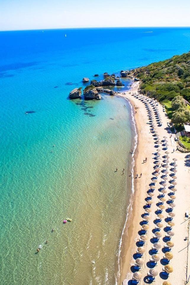 Porto Zorro beach in Zakynthos island Greece.