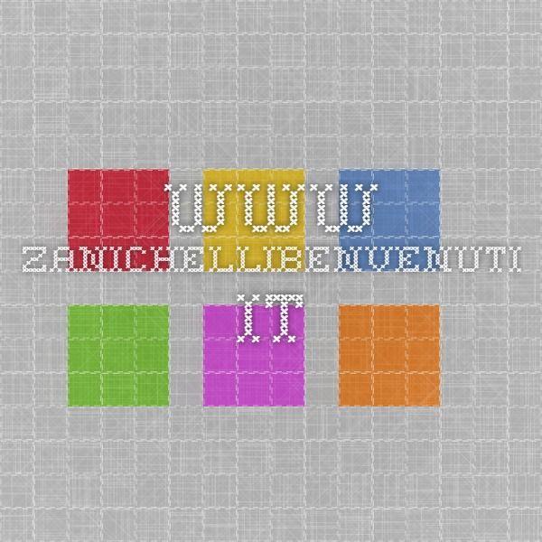 www.zanichellibenvenuti.it