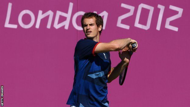 Andy Murray - Tennis - London 2012 - Mens Singles champion