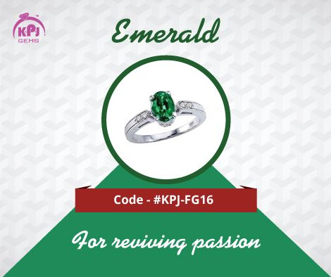 The Emerald gem represents Lord Mercury (Ganesha). The gem is most favored and worn by those who are seeking intellectual power. Code - ‪#‎KPJ‬-FG16 For More Details Visit - http://goo.gl/oetg5G ‪#‎Emerald‬ ‪#‎FancyGems‬ ‪#GemStones‬