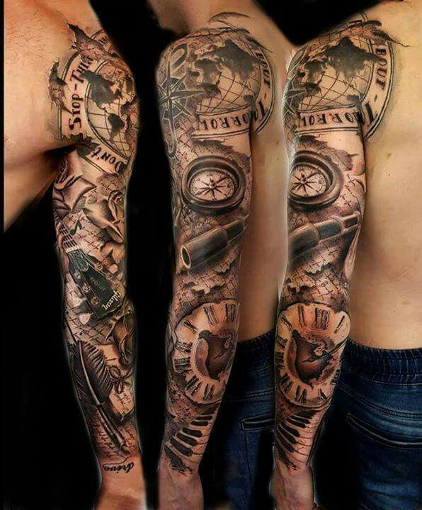 Full sleeve watch