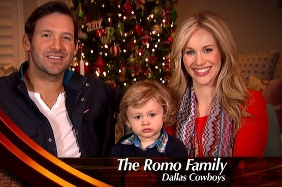 hawkins romo photos | Tony Romo , his wife Candice Crawford, and their baby son Hawkins all ...