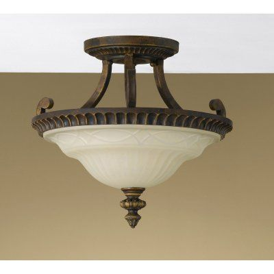 Feiss drawing room sf238 semi flush mount light sf238wal