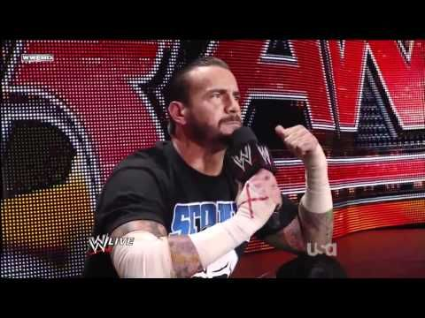 CM Punk Pipebomb Promo - Raw  6/27/11 (HD)