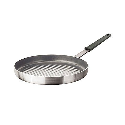 Artisanal Kitchen Supply Professional Nonstick 12 Inch Aluminum Round Grill Pan With Images Kitchen Supplies Griddles And Grill Pans Grill Pan