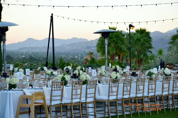 PALM SPRINGS WEDDINGS | the WE studio & the walk down the aisle http://www.theWEstudio.com