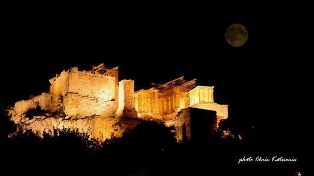 Travel in Clicks: Full Moon Light Up the night
