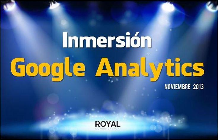 Este jueves 7 de noviembre a las 18:30 Royal Comunicación ofrecerá una conferencia gratuita en la EOI Sevilla, ¡No te lo pierdas! #marketingonline #analítica