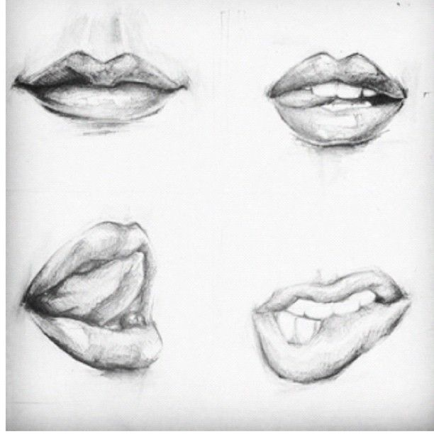 Sexy lips drawing tumblr