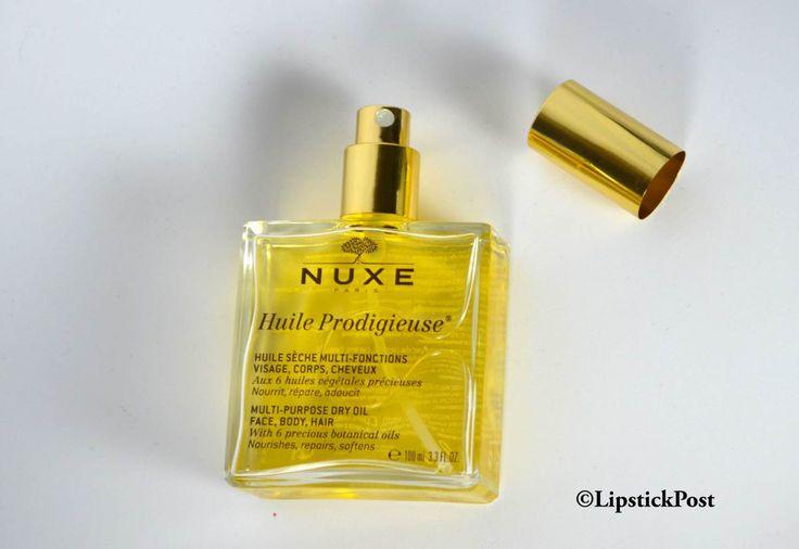 Su#LipstickPost #HuileProdigeuse: il #beautycult tutto naturale della #Nuxe