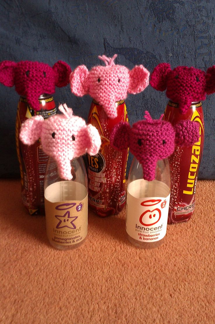 My pink elephants.