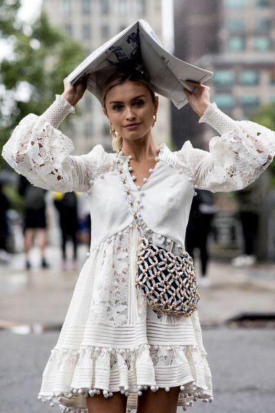New York Fashion Week Spring 2019 Teilnehmerbilder – Mode Fur Frauen
