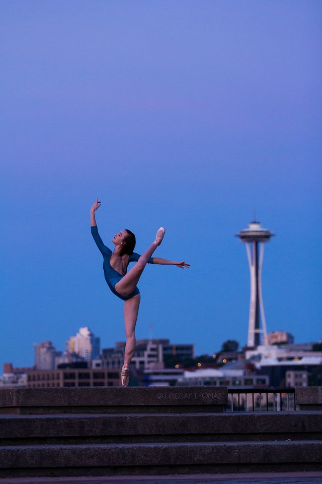 Abby Callahan wearing Label Dancewear   Seattle Ballet     Pacific Northwest Ballet School   ©Lindsay Thomas
