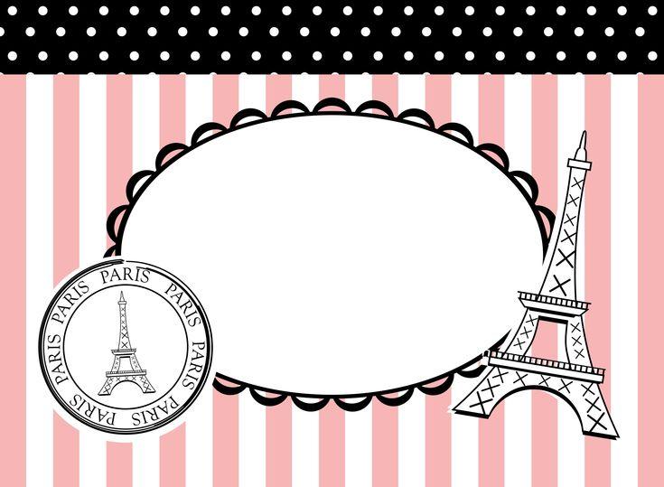 pink poodles in paris theme party | parisian themed ...