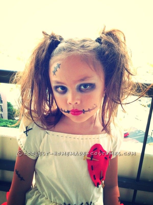 little voodoo doll costume - How To Make A Doll Costume For Halloween