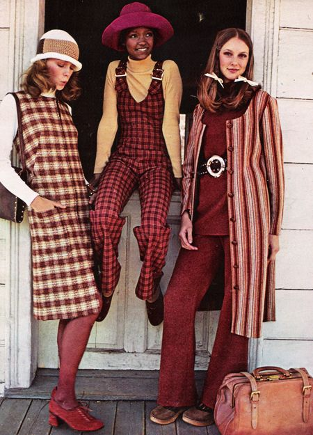 July 1971. Wool gives you the world. - I still like these outfits.