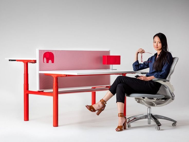 Zenith Interiors: Orbis 120 Degree, sit to stand desk, height adjustable, office, corporate, agile workplace