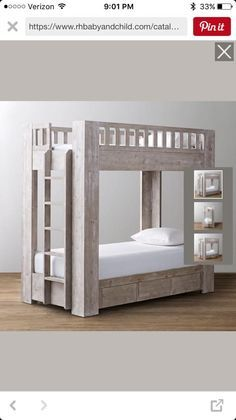 Ana White | Build a Rustic Modern Bunk Bed | Free and Easy DIY Project and