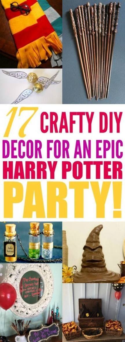 65+ Ideas Party Adult Decorations Harry Potter
