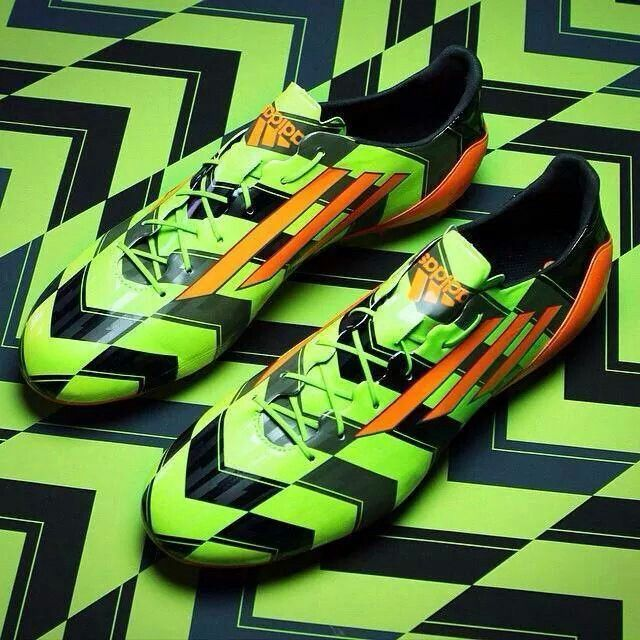 New f50's. Green and Black