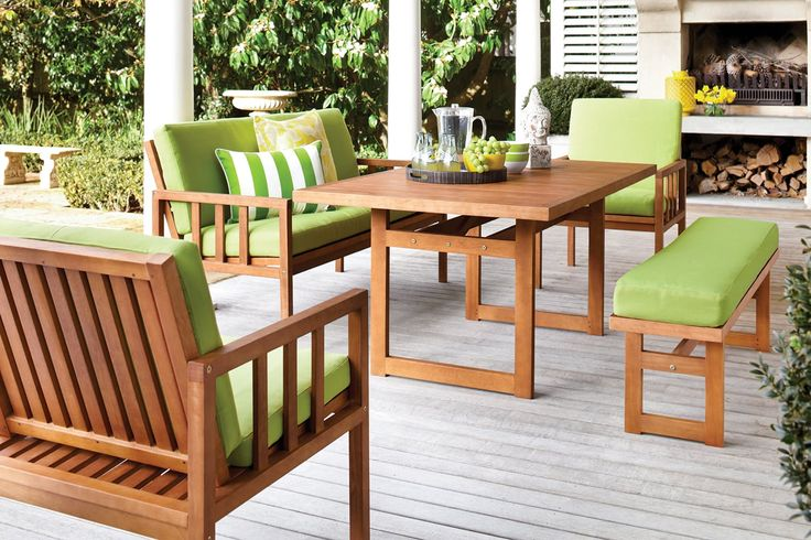 Chill Outdoor Dining Setting $1299 Harvey Norman