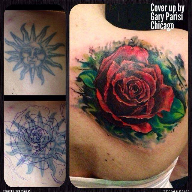 big red rose cover up tattoo ideas pinterest cover ups best cover up tattoos and tattoo. Black Bedroom Furniture Sets. Home Design Ideas