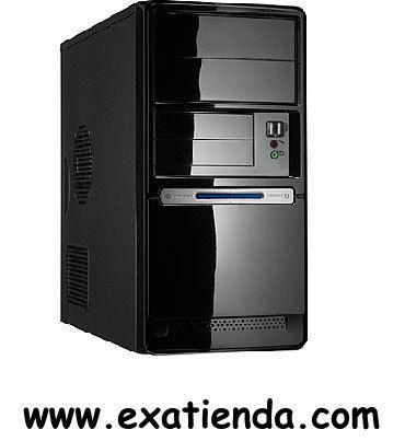 """Ya disponible Caja micro atx st727 06u    (por sólo 39.45 € IVA incluído):   -Formato:Micro ATX -Bahias externas: 2 x 5.25"""" 2 x 3,5"""" -Bahias internas:1 x 3,5"""" -Conectores frontal: 2 x USB2.0. 1 x MIC 1 x Auriculares -Ventilador adicional: - Trasera:Soporte para ventilador auxiliar de 8 ó 9 cm - Frontal:Soporte para ventilador auxiliar de 8 ó 9 cm -Fuente:PC CASE 420PC -Conector S.ATA en fuente:ATX20+4pin, 12V4pin, 2 Molex HDD, 1 Molex FDD y 3 SATA -Medidas (anch x alt x"""