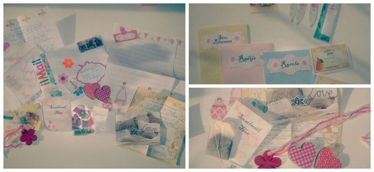 Received SnailMail from Anneloes! <3