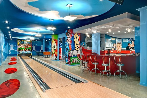 Having your own bowling lane at home, priceless. Though for me I want to welcome the teens to hang around home with their friends. Safer, and supervised.