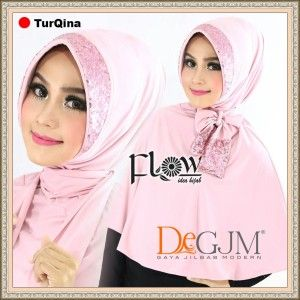 Jilbab Instan Terbaru Cantik Modis Modern Turqina By Flow | Kerudung Modern