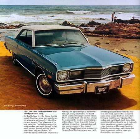Dodge Dart 1977 automático | Vintage 1970 - 1979 | Pinterest