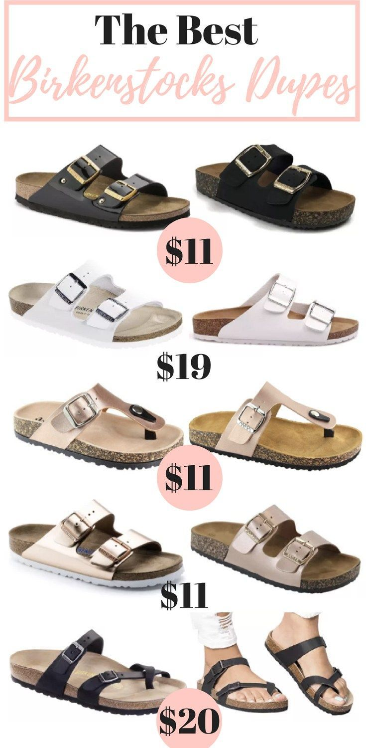17 Best Birkenstocks Dupes Under $25 Get The Look For Less