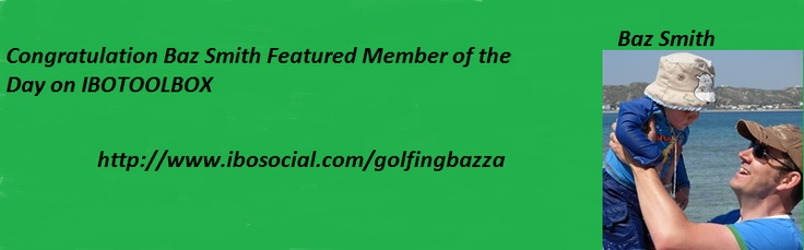 http://www.ibosocial.com/golfingbazza  Get informed Visit Baz Smith today