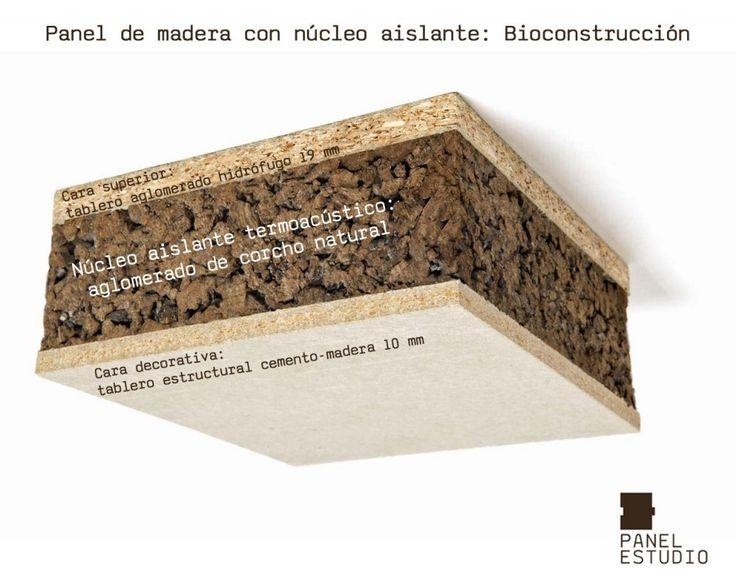 213 best panel sandwich de madera para tejados images on pinterest concrete slab finger - Madera aislante termico ...