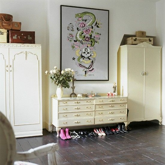 vintage bedroom painted wooden floor image housetohome decor organize girls bedrooms and storage furniture