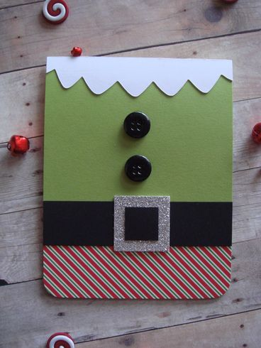 Christmas Elf Card by Peg : A Cherry On Top Gallery