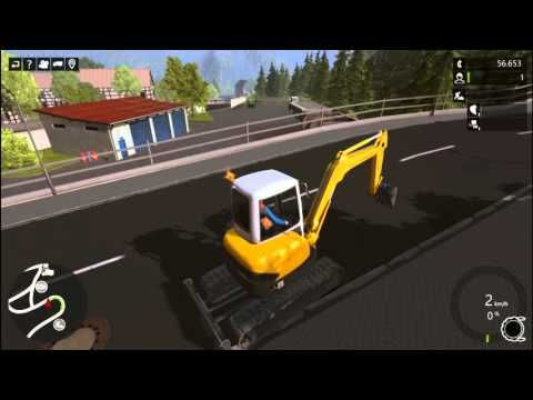 Construction Simulator 2015 Excavator The Farmer in the Dell Nursery Rhythm
