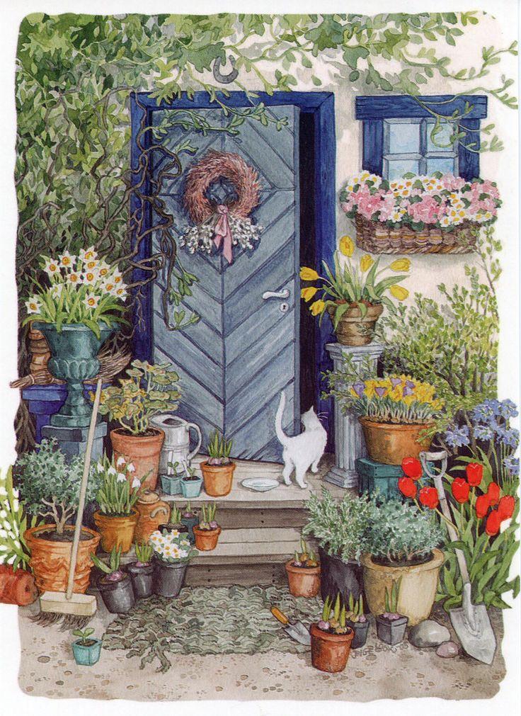 The garden plantas y jard n gatos lindos y flores for Ahuyentar gatos jardin