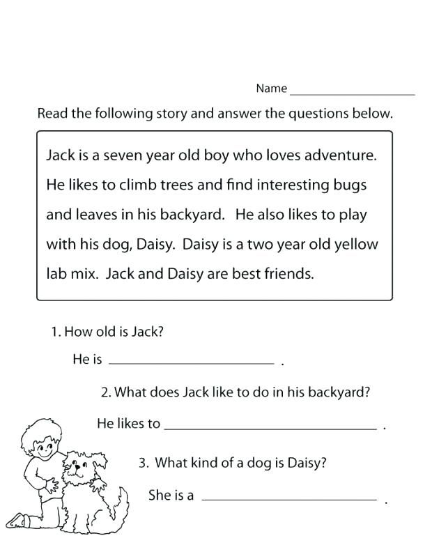 1st Grade Reading Worksheets - Best Coloring Pages For Kids Reading  Comprehension Worksheets, 1st Grade Reading Worksheets, Free Reading  Comprehension Worksheets