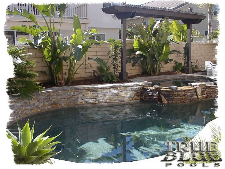 Spool pools for small yards joy studio design gallery for Small backyard swimming pool designs