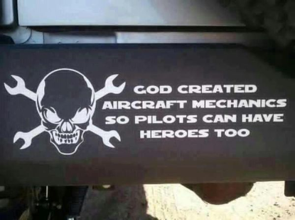 Air Force Aircraft Mechanic | Aircraft Mechanics - Military humor