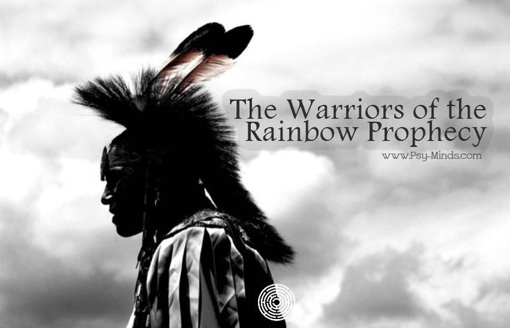The Warriors of the Rainbow Prophecy - @psyminds17