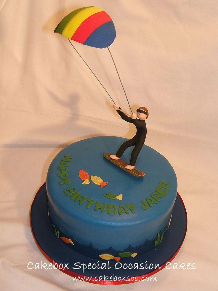 8 Best Kitesurfing Cake Images On Pinterest Surfing
