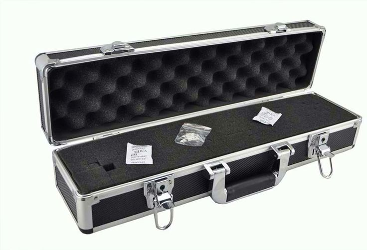 Good Quality Visionking Aluminum Hard Carry Case For Rifle Scope Equipment Box Riflescope Accessories Light Suitcase For Scope