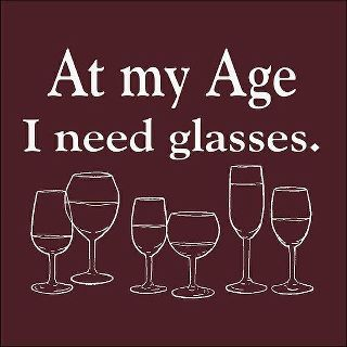 Clay Tile: At my age I need glasses