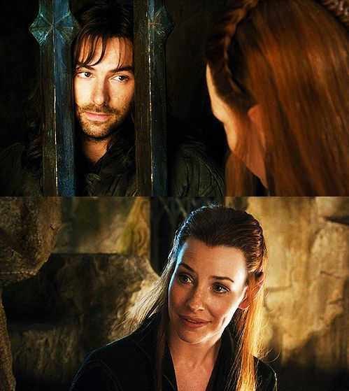 the hobbit kili and tauriel first meet