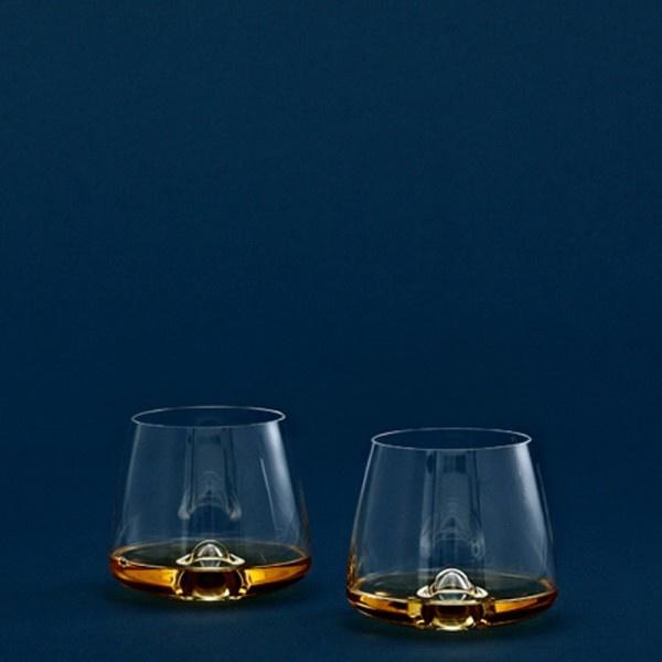 Whisky Glasses- 2 pieces, 9.6 cm x 7.3 cm
